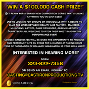 Shine America's Newest Performance Art Competition Show Now Casting!!!