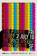 THE FUTURE002 w/KODE9 & SPACEAPE (Live), FLYING SKULLS