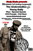 Gee (of The Understudies) B-Day Bash w/ Bicasso of Living Legends & Young Gully