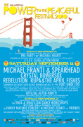 12th Annual Power to the Peaceful Music and Arts Festival 9/10 - 9/12