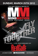 Mind Motion Aries Birthday Bash Featuring Red Cafe Performing Live