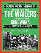 The Wailers & Gondwana (Chile) @ Mezzanine, SF (WIN TICKETS)