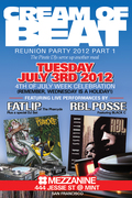 CREAM OF BEAT Reunion Party 2012 ft. Fatlip , RBL Posse, Mind Motion, Ivan, Rolo 1-3, Apollo, Sake 1, Fuze, Vinroc...