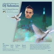 A Benefit & Homage To DJ Solomon | 06/29/12