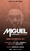 Miguel w/ Teedra Moses Live @ Crest Theatre