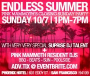 Endless Summer - Body&Soul at Pink Mammoth's Closing Sunday Party (RSVP TO WIN TICKETS)