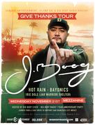 J Boog - Give Back Tour