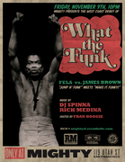 WHAT THE FUNK?! JAMES BROWN vs. FELA  with DJ SPINNA & RICH MEDINA