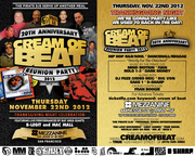 CREAM OF BEAT REUNION 2012 PART 2 - THANKSGIVING NIGHT CELEBRATION B-Legit (LIVE), Mac Mall (LIVE), Mind Motion, Ivan, Rolo 1-3, Dark Money, DJ Fuze (Video Mix), Big Von, Sake 1, D-Sharp