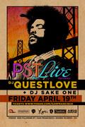 PST LIVE feat. DJ QUESTLOVE + DJ SAKE ONE