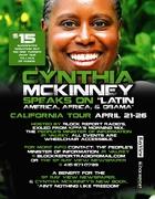Cynthia McKinney Speaks - Latin America, Africa & Obama