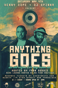 Anything Goes w/ Kenny Dope & DJ Spinna @ Mighty SF (5/4)