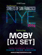 STREETS OF SF NYE featuring MOBY (DJ SET)