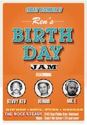 Ren's Birthday Jam feat. Mr. E, Kevvy & Ren the Vinyl Archaeologist