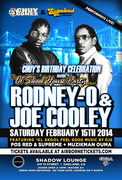 Chuy Gomez BirthDay Bash inside The Ol Skool House Party ft RODNEY O & JOE COOLEY