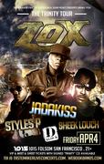 The LOX (Jadakiss, Styles P & Sheek Louch)