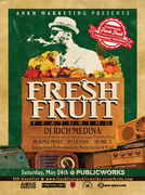 Fresh Fruit feat. Rich Medina, Martin Luther (live), Mr. E, DJ Leydis + more! (WIN TICKETS)