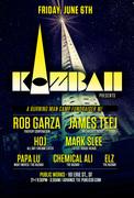 Kazbah benefit w/ Rob Garza & James Teej