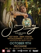 J BOOG with Hot Rain, Inna VIsion, Native Elements, DJ Jah Yzer, & hosted by Big Body Cisco