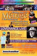 LoveRance Perfoming Live @ Menage Anniversary/Pre-Pride