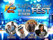 V103 R&B & Old School Fest with the Isley Brothers, Keith Sweat & more [CHI]