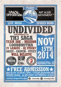 UNDIVIDED 5: San Francisco w/ Th3 Saga, Goodbrutha, Arize, IV League