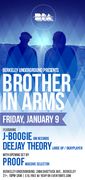 Brother In Arms Featuring:  J-Boogie (Om Records) x Deejay Theory (Large Up/Okayplayer)
