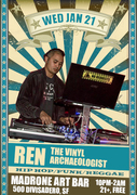 Ren the Vinyl Archaeologist @ Madrone SF