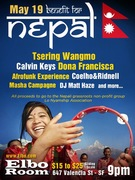 Benefit for Nepal: Bay Area Musicians for Earthquake Relief - May 19 at Elbo Room