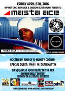 Masta Ace w/Stricklin & Wake Self Live in Oakland, CA!