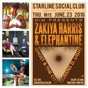 OIM Presents: Zakiya Harris & Elephantine, Ghost & The City, & Queens D. Light
