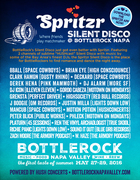 SPRITZR SILENT DISCO at BottleRock Napa