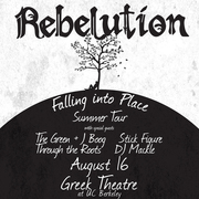 Rebelution, The Green, J Boog, Stick Figure, Through the Roots