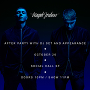 Majid Jordan After Party With DJ Set And Appearance