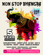 Non Stop Bhangra - 5 Year Anniversary At Public Works
