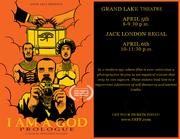 I AM A GOD- Grand Lake Theater