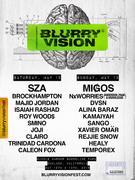 Blurry Vision feat. SZA, MIGOS, NxWorries (Anderson Paak x Knowledge), Majid Jordan, Kamaiyah...