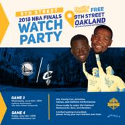 NBA Finals Watch Party - Games 3 & 4