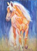 Horse Paintings by Karen Brenner - Studio Open House