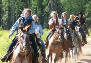 Saddle Up 'n Ride - Girls Fall Riding Camp