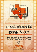 Texas Brothers/Down & Out Live at Lazy!