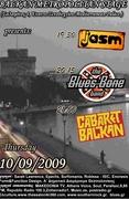 jasm, the Blues Bone Band, Cabaret Balkan live in thessaloniki