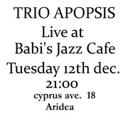Jazz Night at Babi's jazz cafe