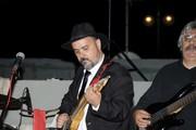 """Nick Tsiamtsikas Blues Report live at """"Ipogeio Bohem"""""""