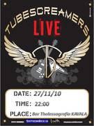 The Tubescreamers band Live