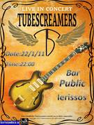 The Tubescreamers Band in concert!