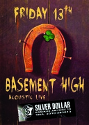 BASEMENT HIGH live Friday 13th