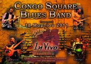 CONGO SQUARE BLUES BAND Live at InVivo