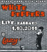 White Peppers @ Lazy Club 1/10/2011