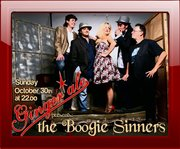 """THE BOOGIE SINNERS live at """"GINGER ALE"""":"""